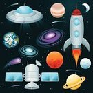 Space,Rocket,Planet - Space,UFO,Galaxy,Moon,Symbol,Computer Icon,Icon Set,Vector,Comet,Star - Space,Satellite,Moon Surface,Saturn,Astronomy,Science,Earth,Star Shape,Jupiter,Space Exploration,Ilustration,Space Travel Vehicle,Exploration