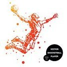 Adults Only,Adult,60983,60013,Abstract,Motion,Men,Only Men,Males,One Man Only,Silhouette,One Person,Activity,Basketball Hoop,Ball,Illustration,People,Sport,Basketball - Ball,Sportsperson,Athlete,Basket,Playing,Basketball - Sport,Vector,Jumping,Orange Color