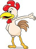 102393,Looking At Camera,Cut Out,Characters,Animal,Cute,Cartoon,Cheerful,Poultry,Illustration,Presenter,Mascot,Teaching,Chicken - Bird,Presentation,Hen,Happiness,Bird,Portrait,Showing,Rooster,Vector,Indicating,Greeting,Pointing,Gesturing,White Color,Standing,White Background