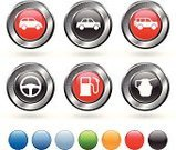 Car,Symbol,Computer Icon,Motor Vehicle,Steering Wheel,Icon Set,Transportation,Silver - Metal,Wheel,Red,Oil Change,Grid,Oil,Fuel Pump,Mode of Transport,Metallic,Oil Industry,Circle,Pick-up Truck,Orange Color,Metal,Blue,Green Color,Digitally Generated Image,Empty,White Background,Blank,Elegance