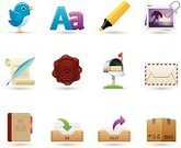Symbol,Computer Icon,Icon Set,Mail,Photography,Box - Container,Mailbox,Paper,Rubber Stamp,Bird,Stack,Document,Letter,Inbox,Envelope,Package,Typescript,Quill Pen,Vector,Address Book,Set,Highlighter,Filing Tray,Clip,Felt Tip Pen,Interface Icons,Air Mail,Cardboard,Wax,Correspondence,Ilustration,Springtime,Outbox,Design Element
