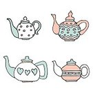 No People,Breakfast,Computer Graphics,Cup,Background,Day,Cafe,Cute,Teapot,Ornate,Collection,Illustration,Symbol,Computer Graphic,Decoration,Backgrounds,Porcelain,Saucer,Decor,Vector,Blue,Pattern,Pink Color