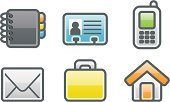 Envelope,Vcard,Computer Icon,Telephone,Mobile Phone,Icon Set,E-Mail,People,Address Book,House,user,Book,Individuality,Office Interior,Internet,Occupation,Data,Computer Software,Portfolio,Web Page,Personal Organizer,Smart Phone,Sparse,Vector,Simplicity,Shiny,Briefcase,Ilustration,Illustrations And Vector Art,Communication,Concepts And Ideas,Information Card,Technology Symbols/Metaphors,Technology,Bright