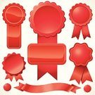 Award Ribbon,Ribbon,Ribbon,Banner,Seal - Stamp,Graduation,Award,Red,Vector,Symbol,Medal,Incentive,Placard,Sign,Business,Security,Wax,Circle,Elegance,Legal System,Icon Set,Wealth,Authority,Achievement,Success,Silk,Serrated,Insignia,Swirl,Party - Social Event,Computer Graphic,Shiny,History,Ornate,Design Element,Plastic,Brick-red,Scroll Shape,Vector Ornaments,Luxury,Holidays And Celebrations,Illustrations And Vector Art,Reflection,Arts And Entertainment