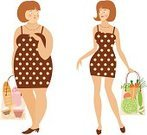 Fat,Women,Overweight,Dieting,Thin,Little Girls,Slim,Weight,Loss,Thick,Healthy Eating,Ilustration,Healthcare And Medicine,Healthy Lifestyle,Food,Brochure,Mass - Unit Of Measurement,Cafe,Backgrounds,dieter,The Human Body,Lunch,Gourmet,Leaning,Desire,Lunch Break,Hungry,Meal,Dinner,Rationing,Elegance,Food And Drink,Enjoyment,Illustrations And Vector Art,People,Refreshment