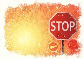 Safety,Stop,Stop Sign,Road,Sign,Traffic,Dirty,Circle,Backgrounds,Grunge,Road Sign,Retro Revival,Sun,Street,Orange Color,Vector,Abstract,Textured,Heat - Temperature,Road Signal,Symbol,Frame,Danger,Blank,Old,White,Red,Light - Natural Phenomenon,Splashing,Shape,Transportation,Warning Sign,Bright,No People,Damaged,Yellow,Protection,Ilustration,Warning Symbol,Entering,Design,Wallpaper Pattern,Sunlight,Information Sign,Painted Image,Lifestyle,Transportation,Lifestyle Backgrounds,Travel Locations,Travel Backgrounds