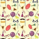 Celebration,No People,Sign,Judaism,Template,Purim,Illustration,Hebrew Script,Cultures,Cookie,Seamless Pattern,History,Backgrounds,Confetti,Vector,Multi Colored,Period Costume,Crown,Costume,Greeting,Dressing Up,Hat,Colors