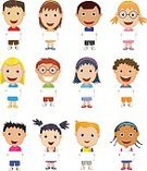 Child,Childhood,Girls,Boys,Sign,Cute,Placard,Cartoon,Cheerful,Religious Saint,Collection,Illustration,People,Mascot,Symbol,Presentation,Education,Dictionary,Fun,Vector,Animated Cartoon,Text,Gesturing,Holding
