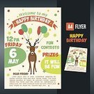 Celebration,Computer Graphics,Love,Cute,Birthday Present,Holiday - Event,Placard,Illustration,Postcard,Greeting,Birthday,Inviting,Happiness,Invitation,Computer Graphic,Circle,Decoration,Gift,Forest,Small,Fun,Vector,Sweet Food,Text