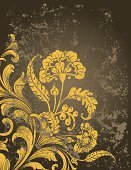 Growth,Single Flower,Distressed,Swirl,Gold Colored,Scroll Shape,Dirty,Textured Effect,Abstract,Victorian Style,Floral Pattern,Textured,Backgrounds,Gothic Style,Modern,Grunge,Ilustration,Empty,Decoration,Vector,Aging Process,No People,Ornate,Leaf,Copy Space,Intertwined,Damaged,Scratched,Twisted,Corner Design,Old,Elegance,Curve,Decor,Illustrations And Vector Art,Curled Up,Vector Backgrounds,Vector Ornaments,Vector Florals,Stained