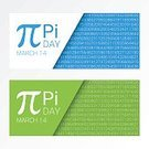 Irrational,Horizontal,Abstract,Continuity,No People,Banner,Mathematical Symbol,Sign,Mathematics,Number 14,Measuring,Science,Illustration,Symbol,Pi - Number,Banner - Sign,In A Row,Number,Measuring,Formula,Backgrounds,Number 3,Vector,Blue,White Color