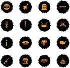 Celebration,Reminder,Memories,USA,Banner,Sign,Holiday - Event,Collection,Illustration,Armed Forces,Icon Set,Rifle,Computer Icon,Symbol,Banner - Sign,Weapon,Veteran,War,Military,Flag,Calendar,Medal,Vector,Hat