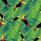 Celebration,Creativity,Romance,Brazil,No People,Animal Wildlife,Cute,Ornate,Tropical Rainforest,Summer,Illustration,Nature,Leaf,Animal Markings,Backdrop,Seamless Pattern,Bird,Decoration,Forest,Branch,Backgrounds,Beach,Tree,Toucan,Vector,Pattern,Textile,Yellow