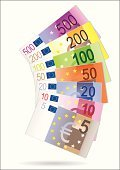 European Union Currency,Euro Symbol,Paper Currency,Currency,Fifty Euro Banknote,Five Hundred Euro Banknote,Five Euro Banknote,Ten Euro Banknote,One Hundred Euro Banknote,Vector,Currency Symbol,Gold Colored,Twenty Euro Banknote,Gold,Bronze,Two Hundred Euro Banknote,Copper,Silver - Metal,Silver Colored,Finanzkrise,Ilustration,Bundle,Isolated Objects,Illustrations And Vector Art,Copy Space,Image,Green Color,No People,Large Group of Objects,White Background,Concepts And Ideas,Vector Icons,Blue,Consumerism,Group of Objects,Isolated-Background Objects,Arrangement,Horizontal,Isolated On White,Color Image,Yellow