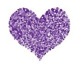 Romance,Love,Valentine's Day - Holiday,Illustration,Heart Shape,Vector,Purple