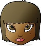 Adult,Women,Doodle,Cheerful,Illustration,Human Body Part,Cultures,Clip Art,Drawing - Activity,Vector,Human Face