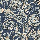Elegance,Retro Styled,No People,Illustration,Seamless Pattern,Decoration,Backgrounds,Curve,Vector,Pattern,Floral Pattern