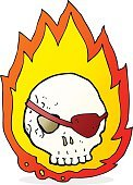 Bizarre,Sign,Doodle,Cute,Cheerful,Illustration,Rough,Pirate - Criminal,Fire - Natural Phenomenon,Clip Art,Drawing - Activity,Burning,Vector,Tattoo