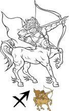 Sagittarius,Centaur,Astrology Sign,Sign,Vector,Weapon,Fortune Telling,Magic,Human Face,Male,Body,Human Muscle,People,Symbol,Animal Body,Animal Muscle,Computer Icon,Astronomy,Colors,The Human Body,Action,Strength,Illustrations And Vector Art,White,Image,Arrow Symbol,Painted Image,Design,Ilustration,Tail