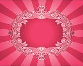 Femininity,Pink Color,Backgrounds,Nobility,Frame,Sign,Design,Exploding,Vector,Swirl,Ornate,Fashion,Retro Revival,Scroll Shape,Design Element,Decor,Color Image,Style,Illustrations And Vector Art,Full Frame,No People,Elegance