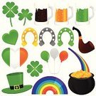 Luck,Four Leaf Clover,Rainbow,Horseshoe,Symbol,Good Luck Charm,Icon Set,Clover,Pot Of Gold,St. Patrick's Day,Guinness,Clover Leaf Shape,Beer Glass,Cooking Pan,Heart Shape,Beer - Alcohol,Irish Culture,Gold,Holiday,Vector,Balloon,Flag,Currency,Hat,Group of Objects,Fairy Tale,Set,Bubble,Ilustration,Clip Art,Decoration,Shiny,Draught,Coin,Celebration,Glass,Ribbon,Wheat Beer,Treasure,Green Beer,Saint,Lager,Irish Flag,Stout,Frothy Drink,Holidays And Celebrations,gold coin,Illustrations And Vector Art,Holiday Symbols,Top Hat