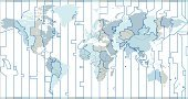 Time Zone,Map,Time,World Map,Globe - Man Made Object,Earth,Cartography,Atlas,USA,Vector,Europe,The Americas,Asia,Religious Icon,Symbol,Computer Icon,Ilustration,Africa,Blue,Concepts And Ideas,Illustrations And Vector Art,Vector Backgrounds,Travel Locations,Time,Travel Backgrounds