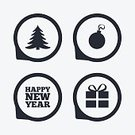 Celebration,Humor,No People,Speech,Sign,Computer Software,Christmas,Illustration,Shape,Symbol,Mobile App,Winter,Token,Christmas Tree,Gift,Event,Tree,Vector,Label,Badge