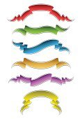 Ribbon,Banner,Symmetry,Blue,Classic,Pennant,Yellow,Flag,Colors,Design,Textile,Vector,Design Element,Curled Up,Green Color,Illustrations And Vector Art,Arts And Entertainment,Decoration,Red,Symbol,Arts Symbols,Ilustration,Bow,Copy Space,Collection,Shape,Retro Revival,Clip Art,Set,Old-fashioned,Vector Backgrounds,Style,Backgrounds,Vector Icons,Blank