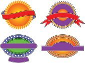 Ellipse,Star - Space,Sun,Insignia,Marketing,Coat Of Arms,Certificate,Computer Graphic,Commercial Sign,Ribbon,Sign,Medal,Computer Icon,Advertisement,Symbol,Gold Colored,Icon Set,advertise,Merchandise,Illustrations And Vector Art,Vector Icon Set,Digitally Generated Image,Gold,Set