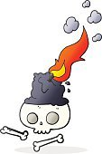 Freehand,Bizarre,Doodle,Candle,Cute,Illustration,Cultures,Clip Art,Drawing - Activity,Burning,Halloween,Witch,Vector,Group Of Objects