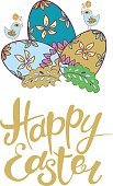 Celebration,Computer Graphics,Ornate,Illustration,Postcard,Easter,Computer Graphic,Decoration,Drawing - Activity,Season,Backgrounds,Typescript,Decor,Vector,Drawing - Art Product,Label,Greeting,Boho