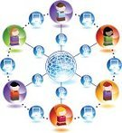 Computer,People,Learning,Child,Internet,Education,Communication,Computer Network,Symbol,Computer Icon,Three-dimensional Shape,Globe - Man Made Object,Isometric,Earth,Global Communications,Laptop,Friendship,Discussion,Profile View,Sphere,Little Boys,Multi-Ethnic Group,Computer Graphic,Little Girls,Ilustration,Isolated,Wireless Technology,Broadcasting,Vector,Illustrations And Vector Art,Design Element,Vector Icons