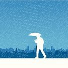 Rain,Weather,Depression - Sadness,Backgrounds,Silhouette,City,Urban Skyline,Economic Depression,City Life,Sadness,Vector,Urban Scene,Loneliness,Dark,Cityscape,Wet,White,Ilustration,Blue,People,Illustrations And Vector Art,Copy Space,All Alone,Vector Backgrounds,sky-scraper,Dusk,Back Lit,Architecture Backgrounds,Architecture And Buildings