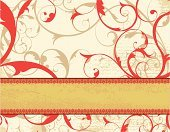 Floral Pattern,Luxury,Antique,Frame,Vector,Red,Retro Revival,Old-fashioned,Ribbon,Single Flower,Swirl,Banner,Dirty,Single Line,Victorian Style,Textured,Victorian Architecture,Grunge,Striped,Ornate,Orange Color,Elegance,Decoration,Gothic Style,Scroll Shape,Spiral,Horizontal,Art Nouveau,Design Element,Yellow,Vibrant Color,Nature,Stained,Leaf,Obsolete,Nature,Fluer De Lys,Damaged,No People,Weathered