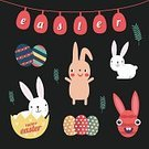 Celebration,No People,Computer Graphics,Sign,Cute,Illustration,Symbol,Easter,Computer Graphic,Decoration,Season,Backgrounds,Menu,Typescript,Vector,Easter Egg,Greeting,Yellow