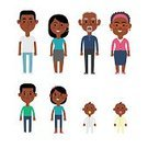 Child,Baby,Senior Adult,Adult,Mature Adult,Kinds,Togetherness,African Ethnicity,African-American Ethnicity,Girls,Females,Boys,Men,Women,Males,Group Of People,Grandmother,Love,Mother,Illustration,Son,People,Infographic,Family,Grandchild,Happiness,Cultures,Flat,Portrait,Daughter,Large,Grandfather,Large,Grandparent,Father,Vector,Multi-Generation Family,Smiling