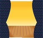 Catwalk - Stage,Flooring,Backgrounds,Curtain,Yellow,Vector,Arts And Entertainment,Architecture And Buildings,Lifestyle,nomura,Opera,Binary Code
