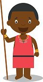 Child,Children Only,62990,61184,Personage,Characters,African Ethnicity,Ethnicity,Nairobi,Africa,Geographical Locations,Kenya,One Person,Masai,Cute,Cartoon,Indigenous Culture,Illustration,People,National,Spear,Cultures,African Culture,Earth,Vector,Lance,Design,Kenyan Culture,Traditional Clothing,Costume,Clothing