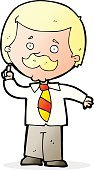 Child,Adult,Boys,Men,Doodle,Cheerful,Illustration,Cultures,Newscaster,Clip Art,Drawing - Activity,Journalist,Vector,Mustache