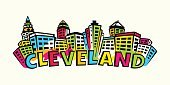 60595,Horizontal,Panoramic,Abstract,Silhouette,Color Image,Ohio,Midwest USA,USA,Cleveland - Ohio,No People,Famous Place,Banner,Outdoors,Skyscraper,Cartoon,Town,City,Illustration,Banner - Sign,Urban Skyline,Building Exterior,Downtown District,Typescript,Vector,Drawing - Art Product,Architecture,Cityscape,Text,Front View,Orange Color,Blue,Vibrant Color,Red,White Color,Neon Colored,Magenta,Black Color,Yellow,Green Color