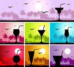 Cocktail,Beach,Party - Social Event,Summer,Cuba,Tropical Climate,Drink,Silhouette,Backgrounds,Food,Cafe,Glass,Palm Tree,Vector,Sun,Symbol,Martini,Luxury,Vacations,Wineglass,Tree,Juice,Holiday,Fun,Bird,Landscape,Enjoyment,Cool,Whiskey,Alcohol,Journey,Paintings,Travel Destinations,Nature,Ilustration,Non-Urban Scene,Heat - Temperature,Shape,Painted Image,Non-alcoholic Beverage,Sunlight,Landscapes,Vector Cartoons,Nature,Drinks,Colors,Food And Drink,Climate,Leisure Activity,Relaxation,Illustrations And Vector Art