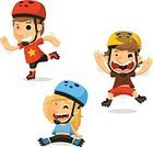 Child,Teenager,babies and children,Individual Sports,60013,Characters,Motion,Childhood,Girls,Teenage Girls,Recreational Pursuit,Moving Activity,Equipment,Enjoyment,Cute,Leisure Activity,Exercising,Healthy Lifestyle,Activity,Wheel,Cartoon,Cheerful,Roller Skating,Illustration,Sport,Cycling Helmet,Happiness,Sports Helmet,Lifestyles,Fun,Vector,Inline Skating,Design,Roller Skate,Inline Skate,Sports Clothing,Smiling,Headwear