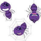 Child,Humor,Spooky,Spider Web,Animal,Cute,Cartoon,Toy,Illustration,Spider,Horror,Insect,Halloween,Animal Body,Fun,Vector