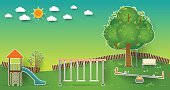 Child,playset,Childhood,Sand,Background,Outdoors,Equipment,Cute,Land,Activity,Summer,Illustration,Nature,Symbol,Playful,Ground - Culinary,Built Structure,Backgrounds,Public Park,Environmental Conservation,Tree,Lifestyles,Grass,Fun,Vector,Green Color