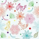Abstract,Retro Styled,Flower,Computer Graphics,Craft,Art And Craft,Daisy,Background,Art,Love,Doodle,Painted Image,Beauty,Old-fashioned,Paper,Cartoon,Summer,Illustration,Nature,Postcard,Leaf,Animal Markings,Single Flower,Computer Graphic,Seamless Pattern,Bird,Curled Up,Decoration,Paint,Branch,Backgrounds,Blossom,Modern,Floral,Beauty In Nature,Animated Cartoon,Springtime,Design,Curtain,Flourish,Pattern,Floral Pattern,Green Color