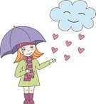 Child,Teenager,Adult,Humor,Childhood,Romance,Adolescence,Females,Women,Teenage Girls,Color Image,Rain,Craft,Art And Craft,Art,Love,Cute,Beauty,Cloud - Sky,Cheerful,Beautiful People,Positive Emotion,Illustration,Nature,People,Curiosity,Rubber,Rubber,Youth Culture,Autumn,Weather,Heart Shape,Decoration,Environment,Small,Season,Real People,Beauty In Nature,Fun,Vector,Walking,Animated Cartoon,Springtime,Emotion,Umbrella,Boot,Touching,Clothing,Smiling,Scarf