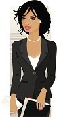 Women,African Descent,Businesswoman,Business,African Ethnicity,Latin American and Hispanic Ethnicity,Secretary,Vector,Ilustration,Working,Office Interior,Financial Advisor,Suit,Well-dressed,One Woman Only,Success,Occupation,Finance,Intelligence,Young Women,Only Women,Jacket,Office Worker,Job - Religious Figure,File,Business People,People,Business,Illustrations And Vector Art