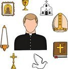 Adult,Liturgy,Cut Out,Spirituality,Men,Pattern,Missionary,Religion,Clergy,Sketch,Background,Praying,Confession Booth,Judaism,Preacher,Monk - Religious Occupation,Catholicism,Illustration,Orthodox,Cross Shape,Computer Icon,Symbol,Pet Collar,Temple - Building,Menorah,Church,Dove - Bird,God,Backgrounds,Bible,Gold,Fishbowl,Father,Vector,Christianity,Design,Religious Symbol,Priest,Occupation,Uniform,Collar,Gold Colored,Pattern,Black Color