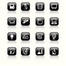 Symbol,Icon Set,Computer Icon,Learning,Education,Internet,Technology,Computer Keyboard,Computer,Shiny,Black Color,Square Shape,Apple - Fruit,Laptop,Book,Award,Keypad,Mortar Board,Interface Icons,Graduation,Globe - Man Made Object,Push Button,Chemistry,Creativity,Ruler,Diploma,Sign,Design,Pencil,Vector,Spiral Notebook,Light Bulb,The Media,Paintings,Writing,Note Pad,Information Medium,Painting,Microscope,Control Panel,Composition,Technology,web icon,Vector Icons,Technology Symbols/Metaphors,Computer Monitor,Inspiration,Arts Symbols,Illustrations And Vector Art,Ideas,keystroke,Tellurion,Computer Mouse,Arts And Entertainment,Glossy Icon,Chemistry Class