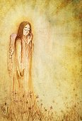 Angel,Archangel,Seraphim,Blessing,Spirituality,Flying,Heaven,Textured,Backgrounds,Parchment,Christianity,Depression - Sadness,Sadness,Religion,Old,Old-fashioned,Watercolor Painting,Textured Effect,Paper,Saint,Antique,holy spirit,Dirty,Artificial Wing,Wing,Mystery,Sculpture,Catholicism,Grief,Aging Process,Distressed,Brown Paper,Copy Space,Stained,Scratched,Handmade Paper,Sunbeam,Holidays And Celebrations,Christmas,Grunge,God,Spotted,Damaged,Run-Down,Weathered,Vertical,Concepts And Ideas,Religion,Holiday Backgrounds,Ancient,Brown,Crumpled,Illuminated,The Past,Hope,Halo